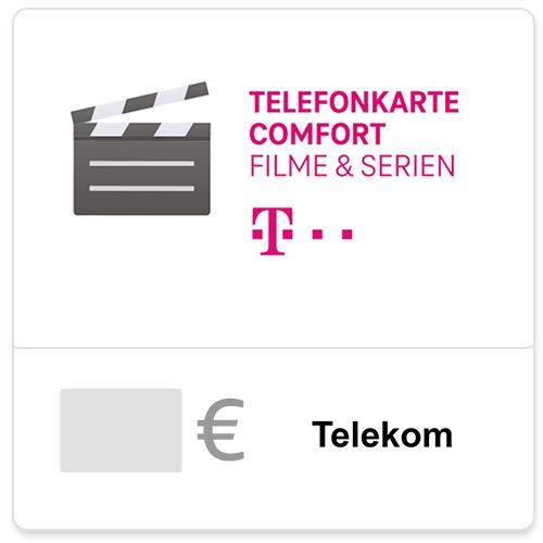 Telefonkarte Comfort Filme (Config) - 10% Bonus nach 1. (Teil)-Nutzung im Aktionszeitraum - für Deutschland - per E-Mail