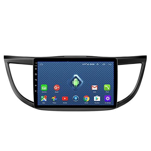 Android 10.0 Radio Stereo Coche Navegación GPS 9 Pulgadas 2.5D HD Pantalla Táctil Ser Aplicable para Honda CRV (2012-2016) Apoyo Llamadas Manos Libres WiFi 4G SWC DSP FM Am Mirror Link 2G+32G