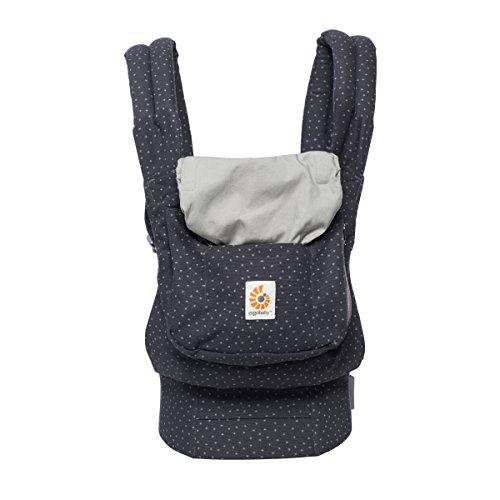 ERGObaby Babytrage Original Starry Sky, 3-Positionen Ergonomische Babytragetasche Kindertrage, Baby Tragesystem von 5.5 bis 20kg