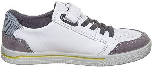 RICOSTA Jungen LON Sneaker, Weiß (Weiss), 29 EU