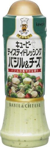キユーピー テイスティドレッシング バジル&チーズ 210ml