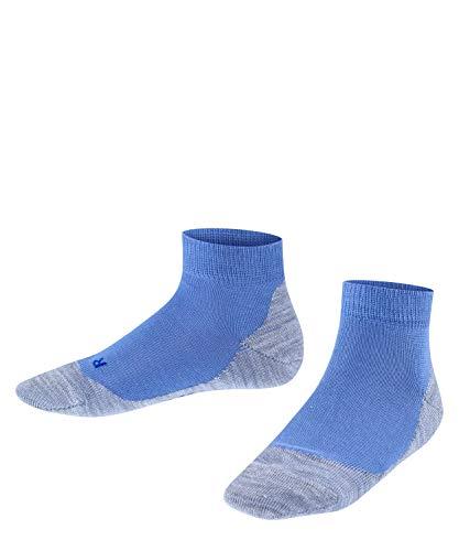 Falke Active Sunny Days - Calcetines de deporte unisex para niños Azul (Smoky Blue 6045). 23-26