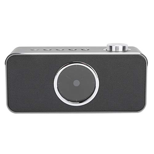 Guitao Mini Metal Inteligente Bluetooth 4.2 Altavoz Despertador En Casa Reloj Inalámbrico Estéreo Portátil Altavoces Bluetooth