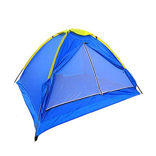 Tentes LIUSIYU 2 Personnes 4 Saison Imperméable Coupe-Vent Ultra-Léger Anti-UV Camping en Plein Air Dôme