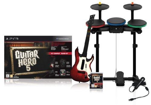 Guitar Hero 5 inkl. Gitarre, Schlagzeug & Mikro