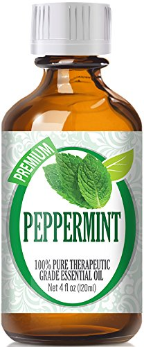 Best Peppermint Oil - 100% Pure Essential Oil - 120ml