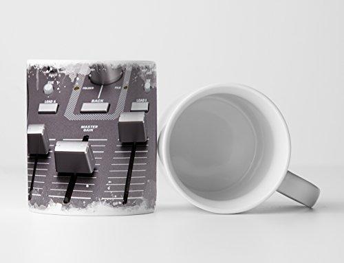 Eau Zone Fotokunst mok geschenk artistieke fotografie - DJ mixer in detail