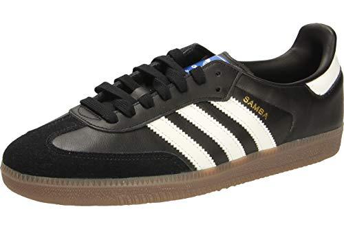 adidas Herren Samba Og Gymnastikschuhe, Schwarz (Negbás/Ftwbla/Gum5 000), 46 2/3 EU