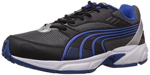 Puma Men's Dark Grey and Blue Running Shoes - 7 UK/India (40.5 EU) (18877215)