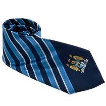 Manchester City/マンチェスター・シティF.C. TieNS ネクタイ ストライプ 【ブルー×ネイビー】
