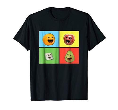 Annoying Orange Characters T-Shirt