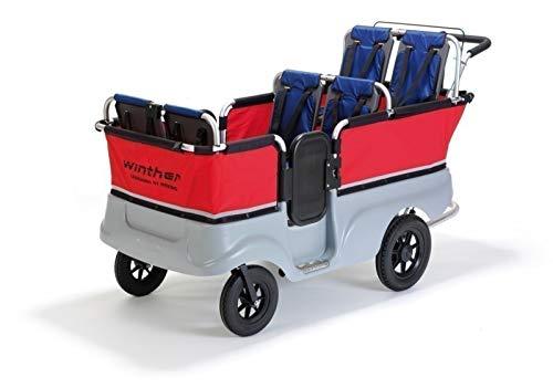 Turtle Kinderbus für 6 Kinder (Belastbarkeit: bis 110 kg Gesamtgewicht) von Winther