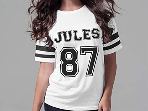 Personalisiertes Damen Trikot Shirt mit Print