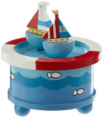 Spieluhrenwelt 43804 Tanzende Segelschiffe