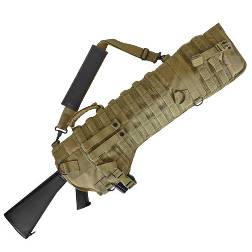 Fox Outdoor Products Tactical Assault Rifle Scabbard, Coyote