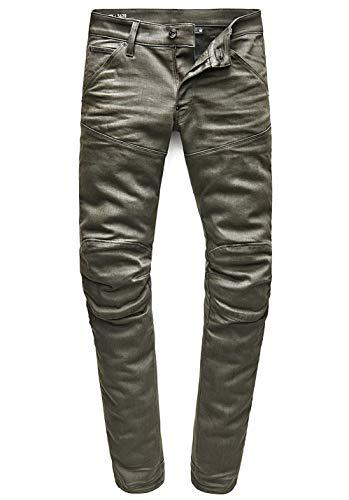 G-STAR RAW Herren 5620 3D Super Slim Coj Skinny Jeans, Grün (Asfalt 995), W32/L34