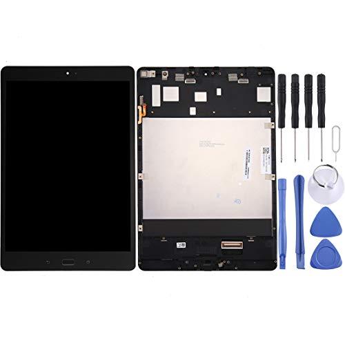 DINGJIA Pantalla LCD Superior y ensamblaje Completo del digitalizador con Marco for ASUS ZenPad 3S 10 / Z500M / Z500 / P027 (Gris) (Color : Grey)