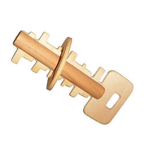 MINGZE Puzzle Madera 3D para niños, Juegos de Ingenio...