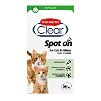 REPELS FLEAS and TICKS - Easy to use insect repellent that's clinically proven to repel fleas and ticks CATS and KITTENS - Suitable for both cats and kittens over 12 weeks of age HOW TO USE - Simply part your cat's fur at the back of the neck, and sl...