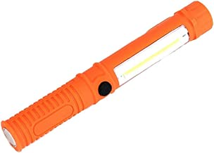 Zaklamp Led Zaklamp Mini Draagbare Torch Werken Inspectie Torch Cob Multifunctioneel Onderhoud met Magnetische Base Blauw