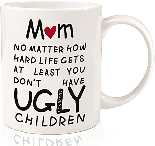 Taza de cerámica para té de café o té, regalo para el día de la madre, 325 ml