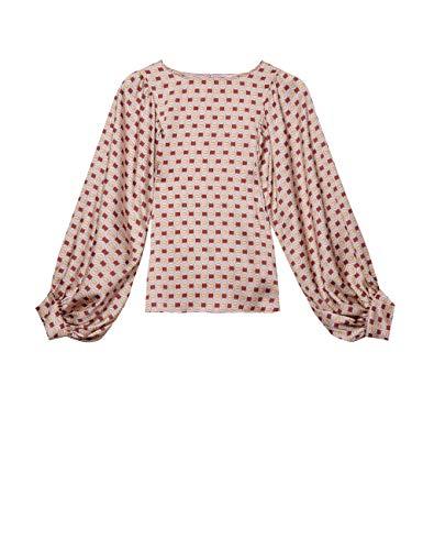 Oltre : blouse met wijde mouwen en geometrisch patroon (Italian Size)
