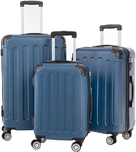 Juego de maletas rígidas con 4 ruedas, A13, M-L-XL