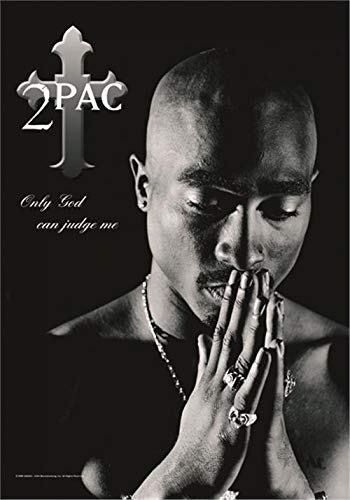 2Pac - Only God Can Judge Me Flagge