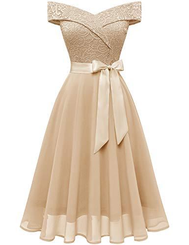 Short Off the Shoulder Wedding Dress