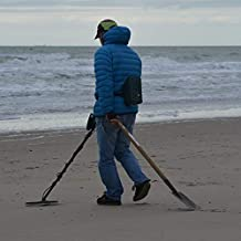Home Comforts People Metal Detector Man Sea Beach Fortune-Hunter Vivid Imagery Laminated Poster Print 24 x 36