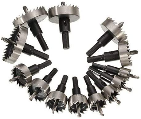 Good Quality 13pcs 16-53mm Drill Bit Selling rankings Spped Austin Mall High Set Tooth Steel