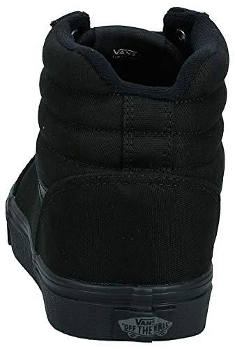 Vans Ward Hi Canvas Sneaker a collo alto Uomo, Nero (Black 186), 42 EU