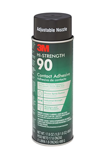 3M 90-24 Spray Adhesive, 17.60 Oz, 12 per Case