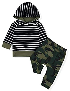 FEITONG Infant Baby Girls Boys Long Sleeve Solid Hooded Jumpsuit Romper Outfits Crawling Suit