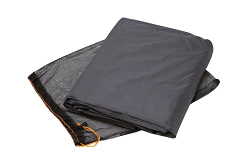 VAUDE Camping Zubehör Floor protector für Campo Compact 2P, anthracite, one Size, 142200690