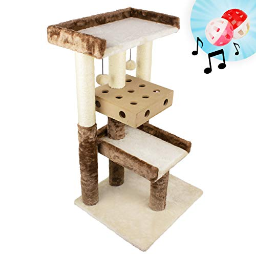 Downtown Pet Supply Deluxe Interactive Cat Tree