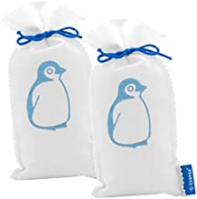 Zarpax Reusable Absorbs Moisture, Humidity and Eliminates Odor from Laundry Room, Kitchen, Bathrooms, Closets, and Much More, 9 oz, 2-Pack Dehumidifier, White