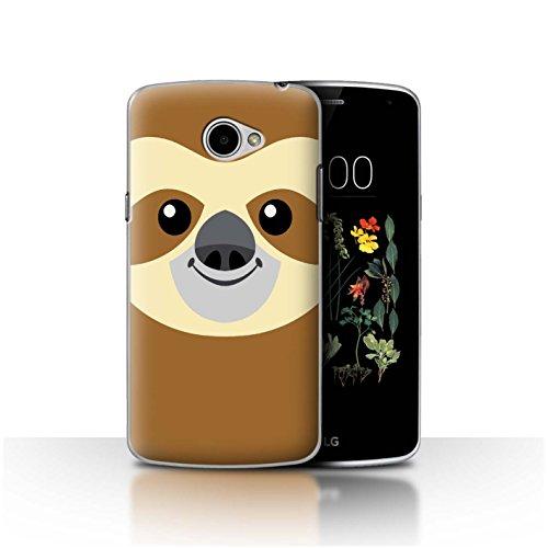 Stuff4®® - Funda para teléfono móvil con diseño de Dibujos Animados Faultier LG K5/X220