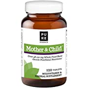 Pure Essence Labs Mother and Child - Master PostNatal Formula - 120 Tablets