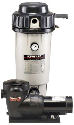 Hayward EC50C92S Perflex 1 HP D.E. Filter Pump System
