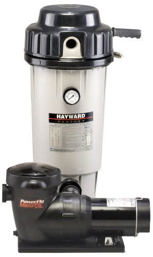 Hayward EC50C92STL Perflex 1 HP D.E. Filter Pump System , Twist...