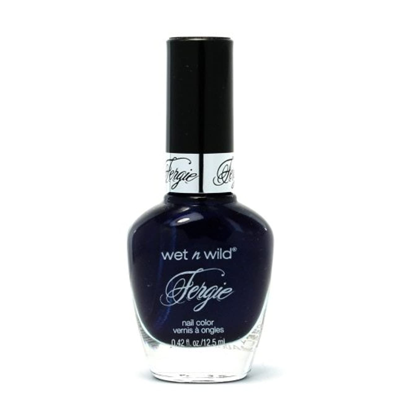 辛なからかう分類する(6 Pack) WET N WILD Fergie Heavy Metal Nail Polish - Mazel Tov Madness (DC) (並行輸入品)
