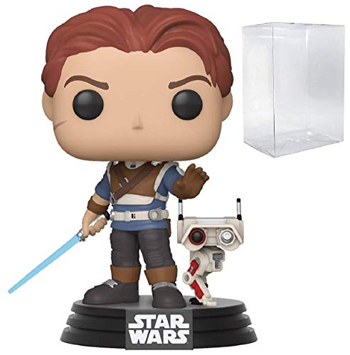 Star Wars: Jedi Fallen Order - Cal Kestis with BD-1 Pop! Vinyl Figure (Includes Compatible Pop Box Protector Case)