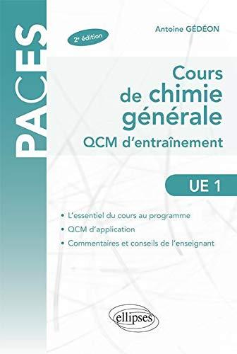 Cours de Chimie Générale UE1 QCM d'Entrainement