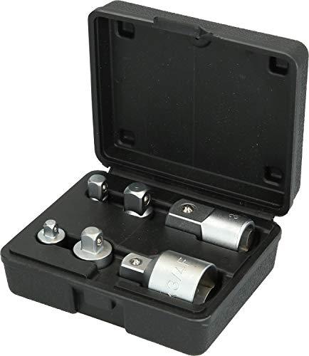 Brilliant Tools BT024006 Jeu d'adaptateurs. 6 pcs, Bleu/Noir, 6-TLG