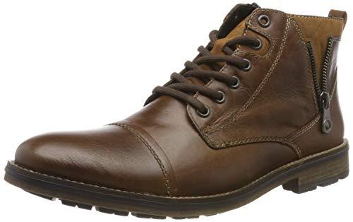 Rieker Herren F5512 Klassische Stiefel, Braun (Marron/Reh/Mogano/ 25 25), 45 EU