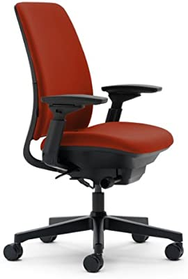 Steelcase Amia Adjustable Chair, Rouge Fabric