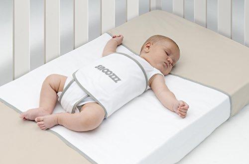 Snoozzz envoltura segura que da protección al niño - Antireflujo bebe - 100% algodón ✅