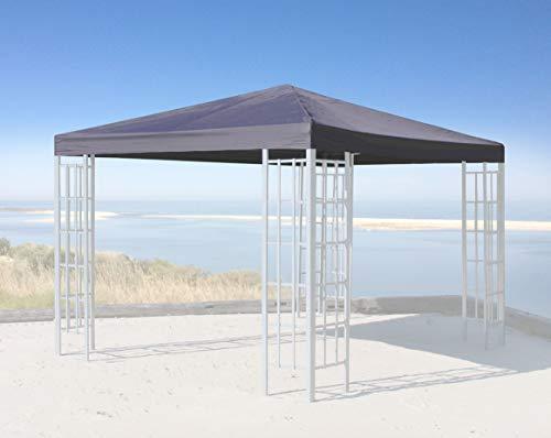 QUICK STAR Ersatzdach für Rank Pavillon 3x3m Anthrazit RAL 7012 Ersatzbezug Pavillondach