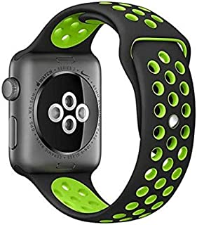 Sport Silicone Strap for Nike Apple watch band 42mm bracelet